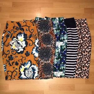 5 H&M Pencil Skirts